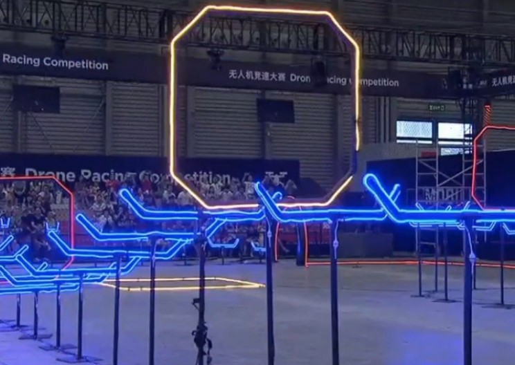 This Indoor Drone Racing Tournament Will Blow Your Mind