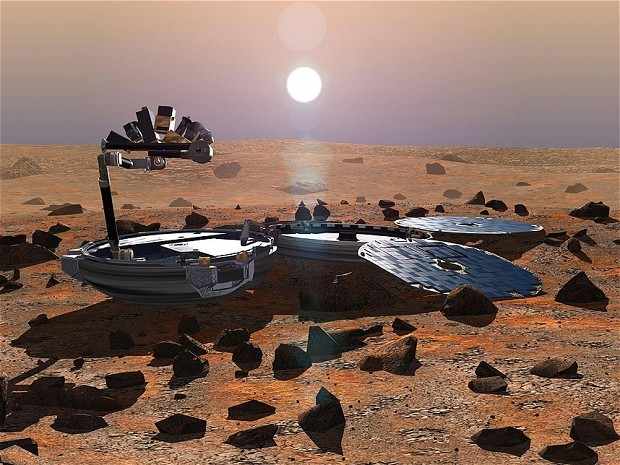 Lost Beagle 2 probe found intact on Mars after 12 years