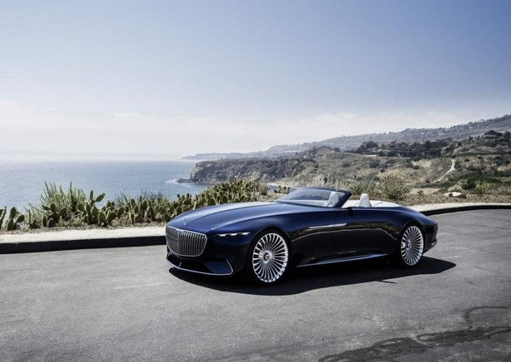 Mercedes Unveils a Breathtaking 20-Foot-Long Luxury Convertible