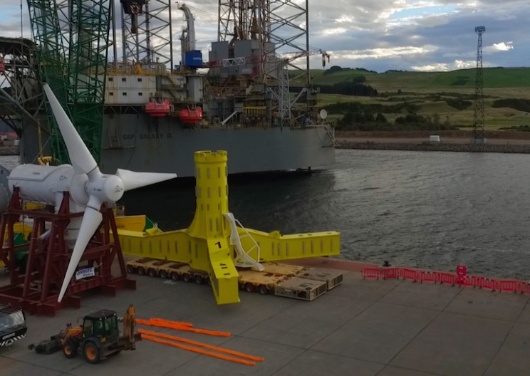 MeyGen: World's Largest Tidal Power Project has Launched in Scotland!