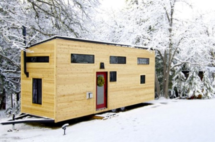 Couple design and build a mortgage free home for $33k