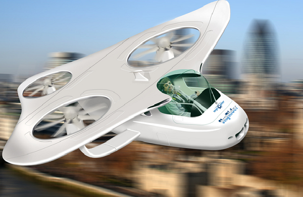 Fancy swapping your car for a helicopter? This may soon be a reality