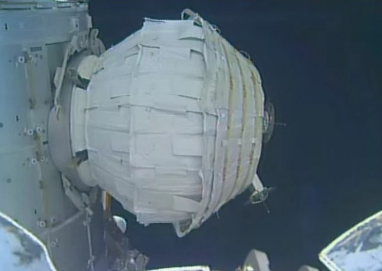 NASA Successfully Inflated Their Space Habitat on the ISS