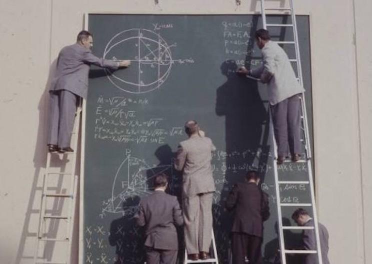 A Rare Look at NASA Calculations Before Computers