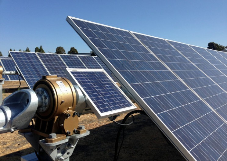 Tracking the sun: trackers for solar power systems