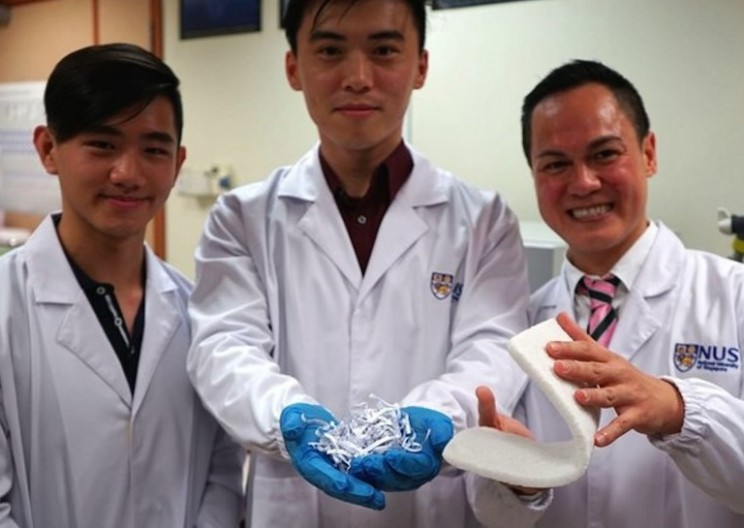 Aerogel Can Now be Formed From Waste Paper