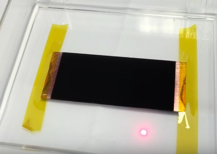 New Material so Black it Can't be Measured