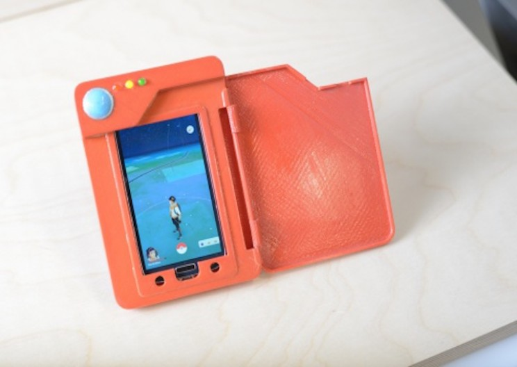 3D Printed Pokédex Battery Case is Everything You Need to Catch 'em All