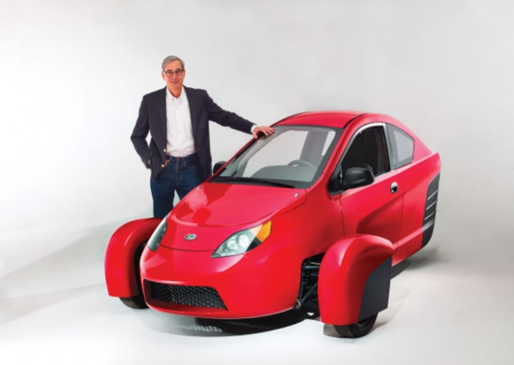 """Three-Wheeling"" into the future: Elio Motors"