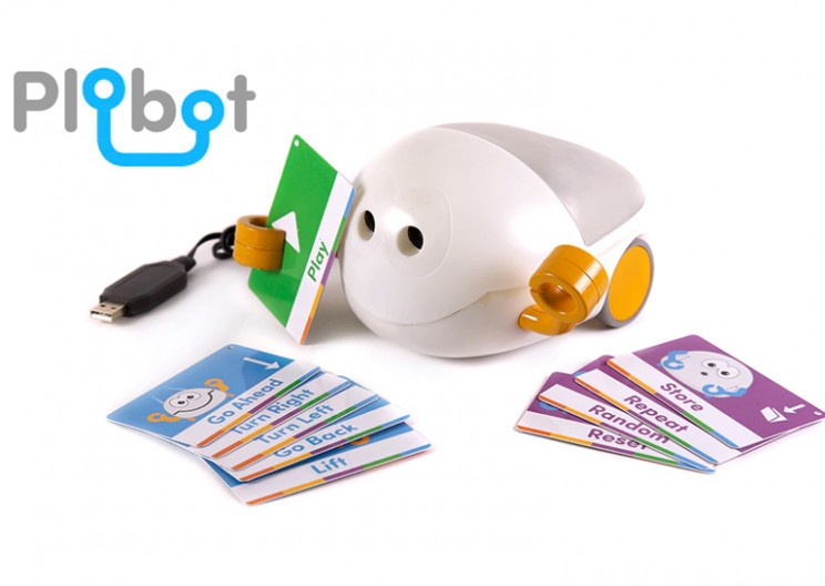 Let Your Kids Learn Physical Coding Logic With Friendly Plobot