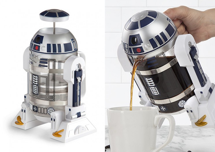 Let R2-D2 Brew Your Morning Coffee