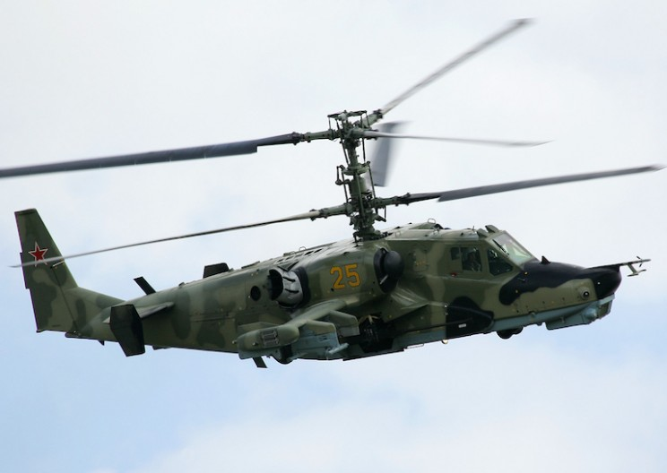 The Engineering Behind the Russian KA-52 Attack Helicopter