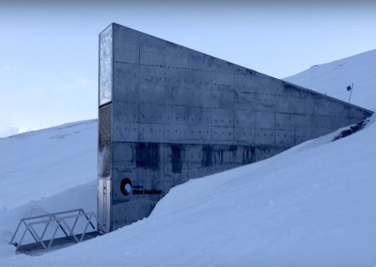 A Look Inside the 'Doomsday Vault' that Houses the World's Seeds