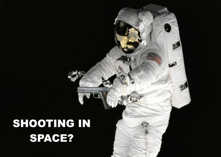 Firing a Gun in Space – What Would Happen?