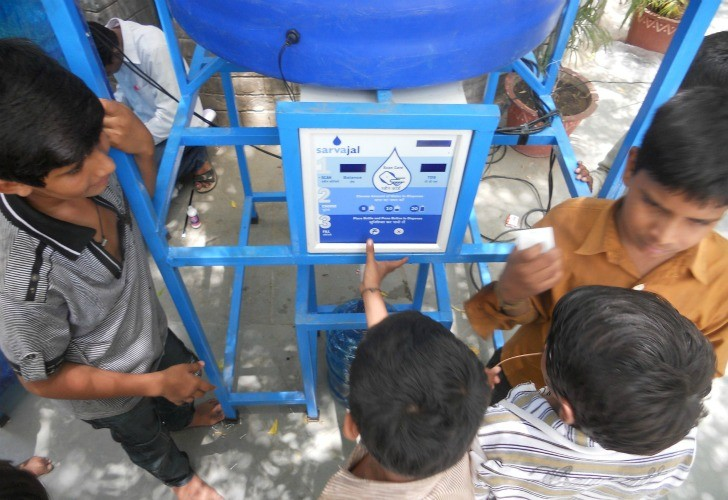 Water ATMs to Solve Water Delivery Problems in India