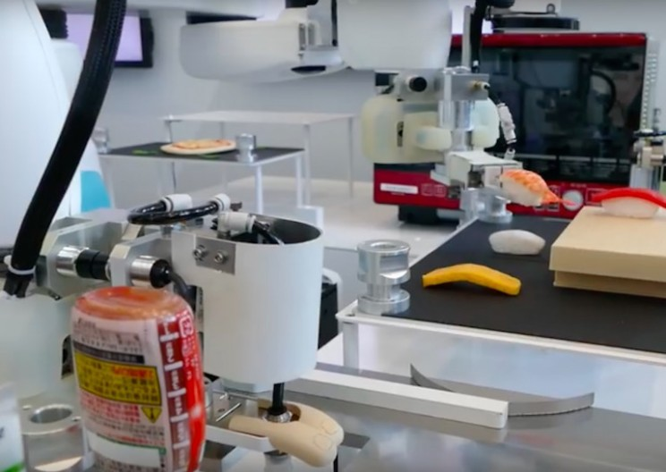 Kawasaki Adapts Robots to Perfectly Create Sushi