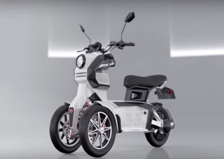 3-Wheeled Electric Scooter is the Vehicle of the Future