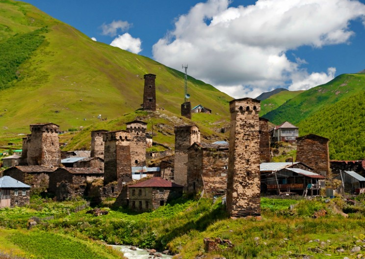 Svaneti Towers: the Crown of the Highest Village in the Europe