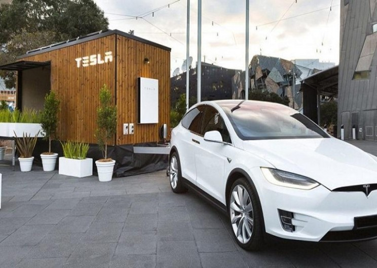 Tesla Creates a Futuristic 'Tiny House' to Show off Its Energy Products
