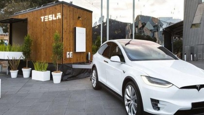 Tesla Creates a Futuristic 'Tiny House' to Show off Its Energy Products