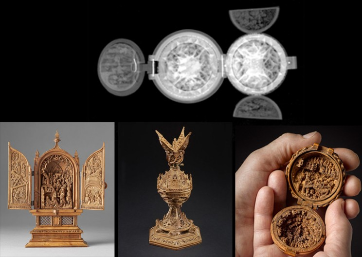 Researchers Use X-Ray and Micro-CT to Explore 16th Century Boxwood Carvings
