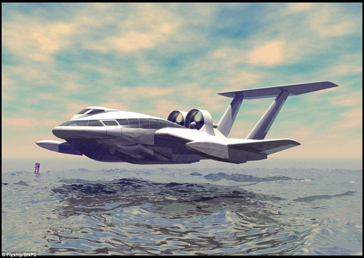 Is it a boat or a plane? A look at Flyship's new design