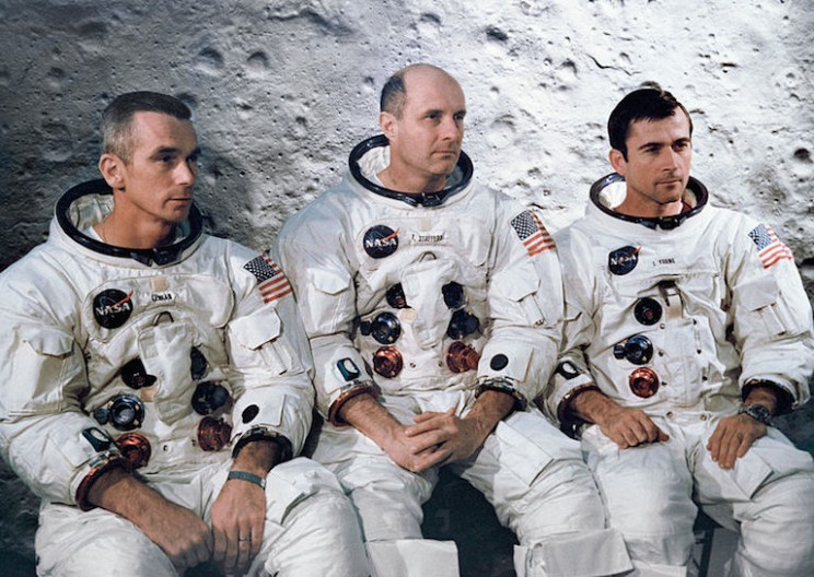 Apollo 10 Astronauts heard music on the far side of the Moon