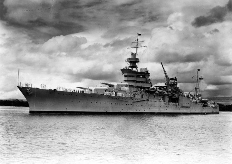 Wreckage of Lost World War II Heavy Cruiser Found After 72 Years