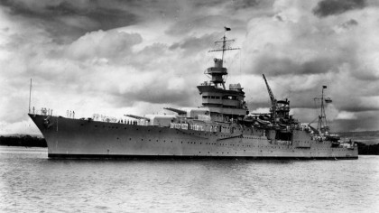 Wreckage of Lost World War II Heavy Cruiser Found After 72 Years