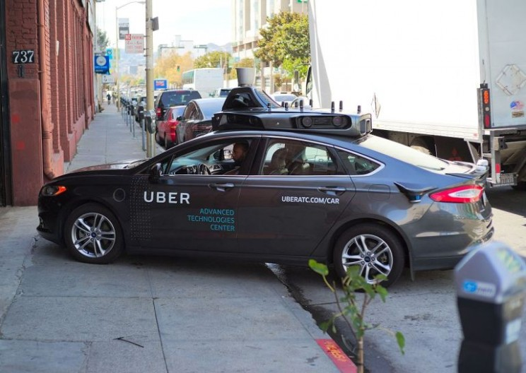 Uber's Self-Driving Cars to Hit the Streets of California for Permit Test