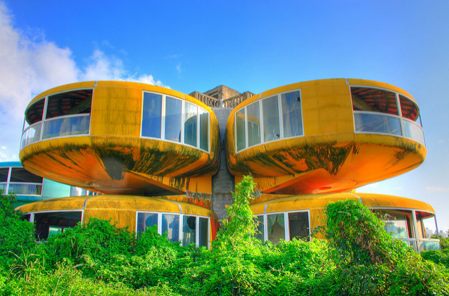 Taiwanese UFO House