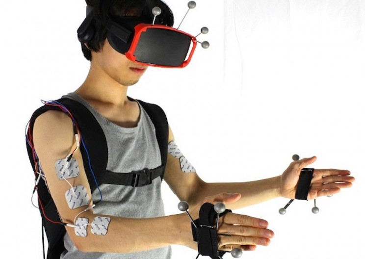 This VR System Makes Users 'Feel' Objects by Giving Them Electric Shocks