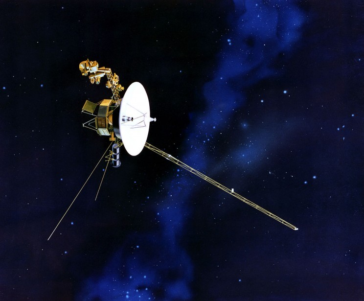Voyager 1 is at the edge of the Solar System
