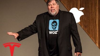 Apple Cofounder Wozniak Bets on Tesla for the Next 'Moonshot' Technology