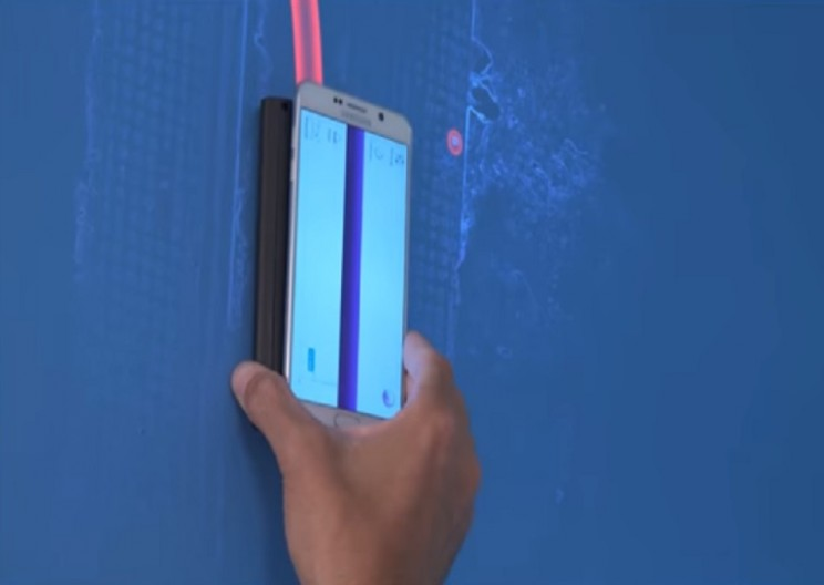Walabot 3D Imaging Sensor Gives X-Ray Vision to Its Users