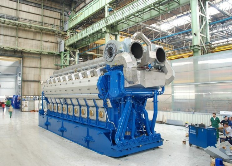 World's Largest Four Stroke Gas Engine
