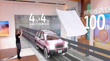 The Weather Channel Uses Augmented Reality for Safety Demonstration