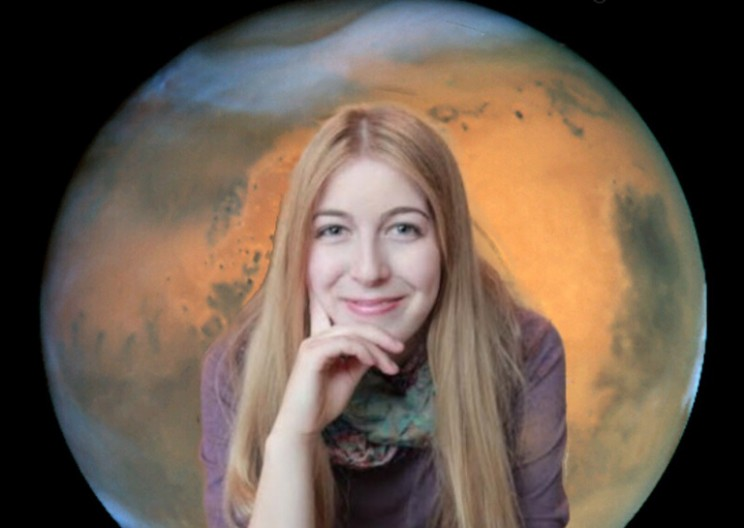 Astronaut Abby Dreams of Becoming First To Land On Mars