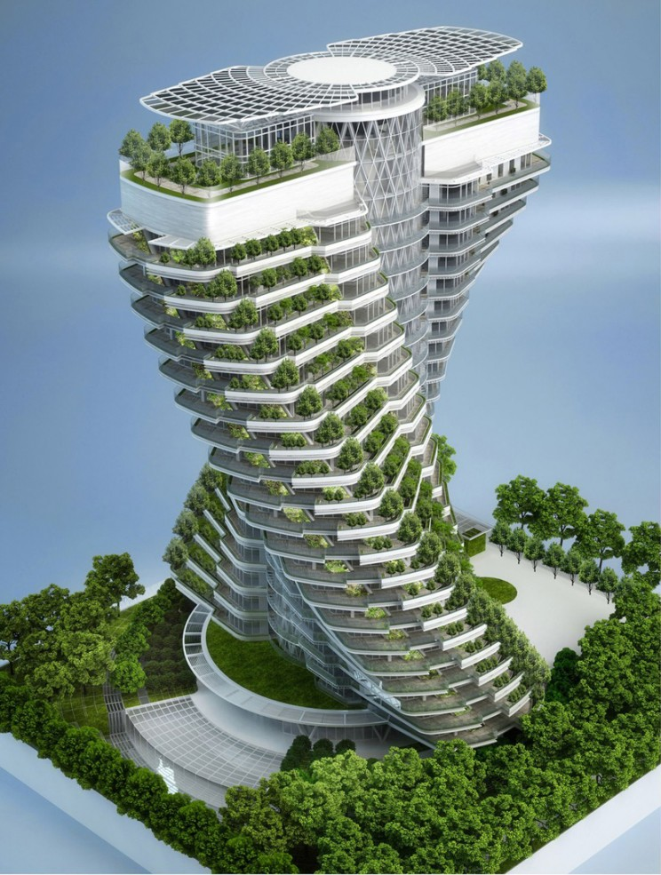 "New ""Green"" Building Design from Taiwan"