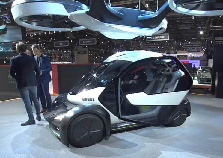 Airbus Finally Reveals Long-Rumored Autonomous Flying Car