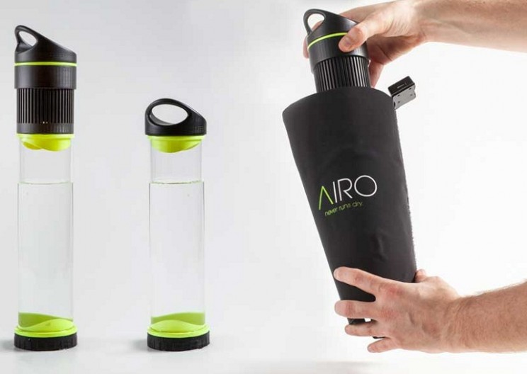 First Self-filling Water Bottle Ever Created