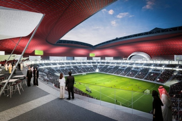Al Bayt Stadium is one of 12 venues planned for 2022 World Cup in Qatar