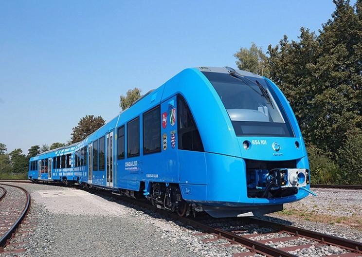 World's First Hydrogen-Powered Passenger Train