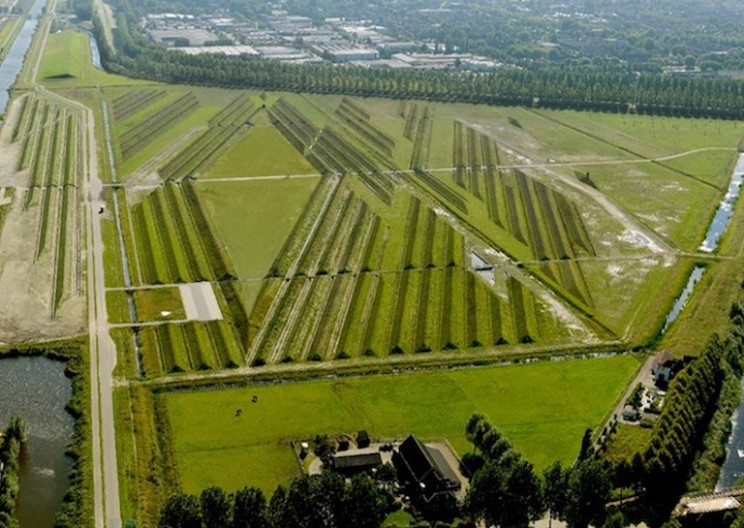 This Cleverly Designed Park Reduces Noise Pollution Around Amsterdam's Busy Airport