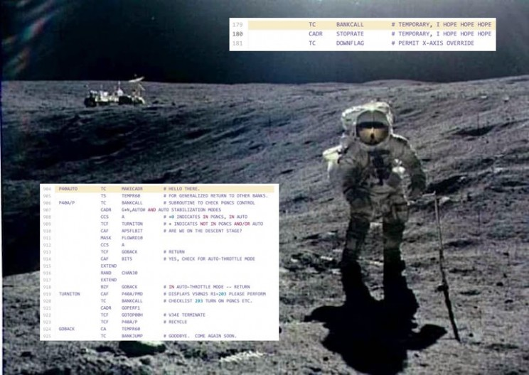 The Code for the Moon Landings was Released and It's Surprisingly Hilarious
