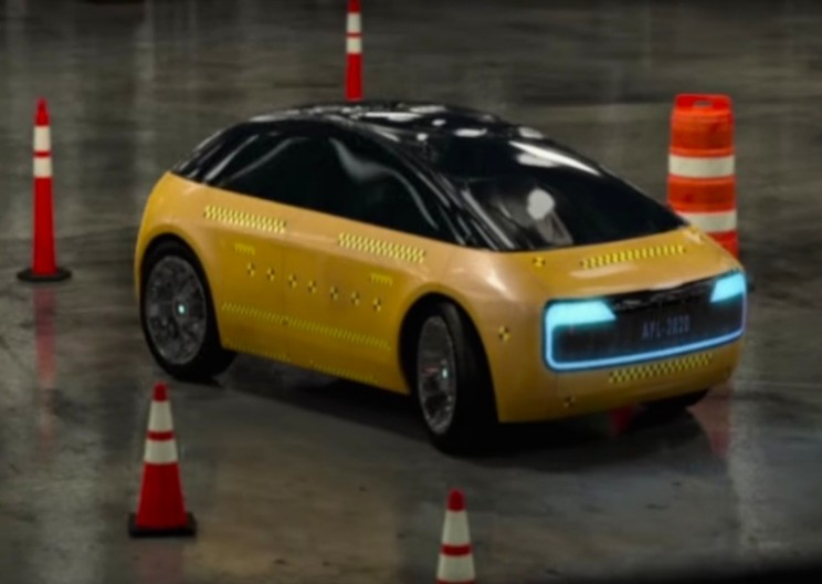 A Look at Apple's New Electric Car