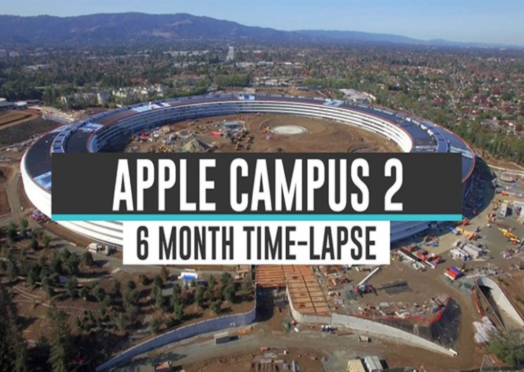 Watch Apple Campus 2 Six Month Time Lapse in 4 Minutes