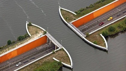 The Veluwemeer Aqueduct: Netherland's Unique Water Bridge
