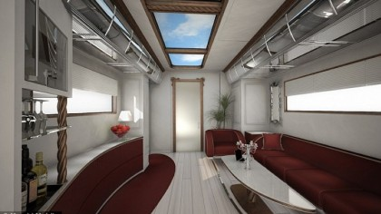 Million dollar luxury in a mobile home