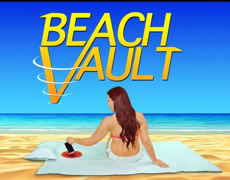 Get secure on the beach with the Beach Vault